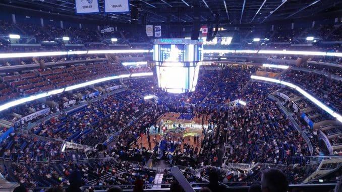 salle de basket aux USA